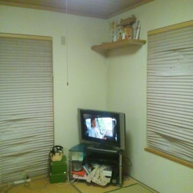 内装工事前 和室