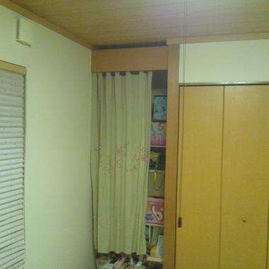 内装工事前 和室収納棚