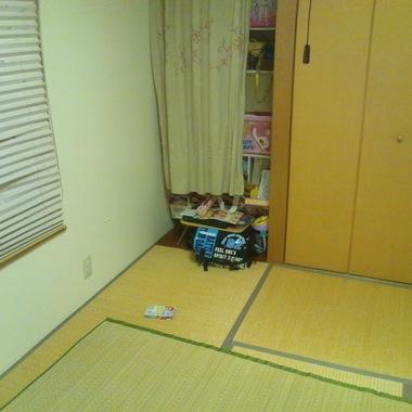 内装工事前 和室の畳