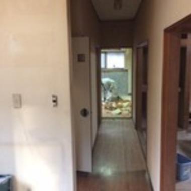 広島市安佐北区✕全面リフォーム✕古い平屋もおしゃれに出来る工事の施工前写真(2枚目)