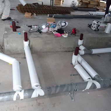 スターバックスコーヒー 新規給排水設備工事の施工前写真(2枚目)