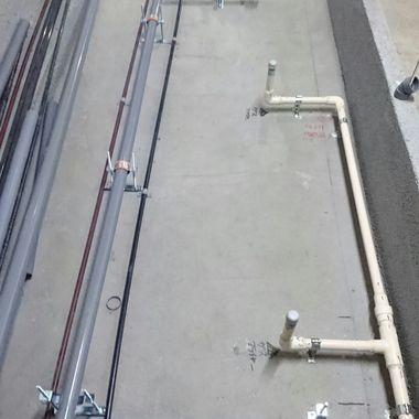 東京都港区 某とんかつ屋 給排水設備工事の施工前写真(1枚目)