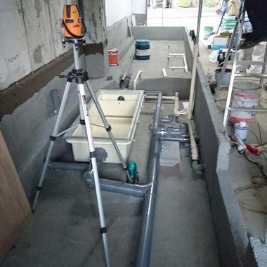 東京都港区 某とんかつ屋 給排水設備工事の施工前写真(2枚目)