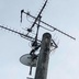 地デジアンテナ交換 八木式アンテナから平面アンテナ(スカイウォーリー)へ交換の施工前写真(1枚目)