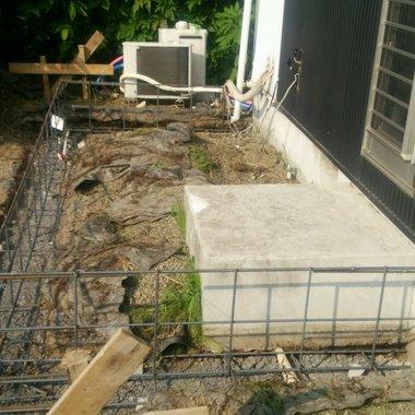 パントリー新設工事の施工前写真(1枚目)