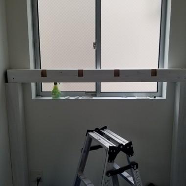 ☆オシャレに隙間にぴったりのミニロフト完成☆の施工前写真(1枚目)
