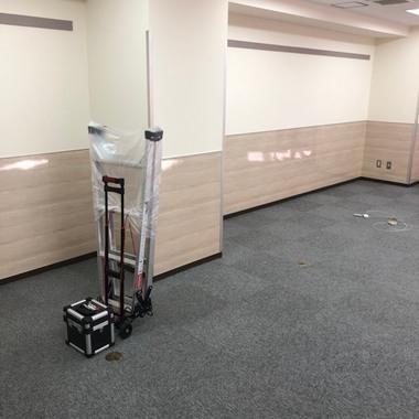 人材派遣会社オフィスのリノベーションの施工前写真(1枚目)