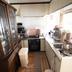 システムキッチン改修工事の施工前写真(1枚目)