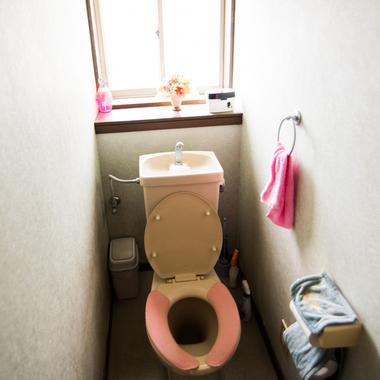 トイレ改修工事の施工前写真(1枚目)
