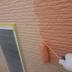 オレンジ色が好きな旦那様の為に配色には苦労しました。の施工前写真(1枚目)
