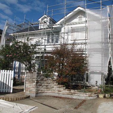 屋根・外壁塗装の施工前写真(1枚目)