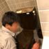 トイレ交換の施工前写真(1枚目)