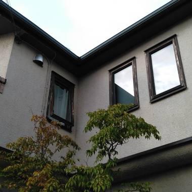 水戸市K邸外壁塗装工事の施工前写真(1枚目)