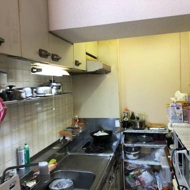 キッチンをお値打ちに使いやすく!の施工前写真(1枚目)