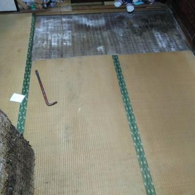 畳からフローリングにの施工前写真(1枚目)