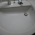 洗面台ひび割れ修繕(埼玉県川口市)の施工前写真(1枚目)