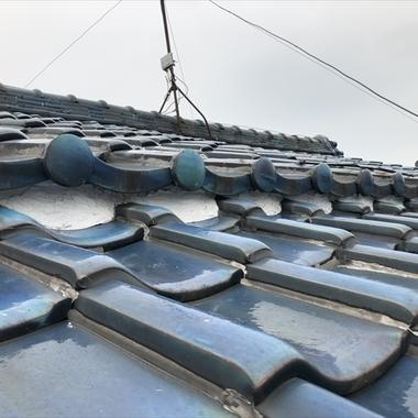耐震補強工事の施工前写真(1枚目)