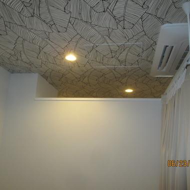 整体院内装パーテーション設置工事の施工前写真(1枚目)