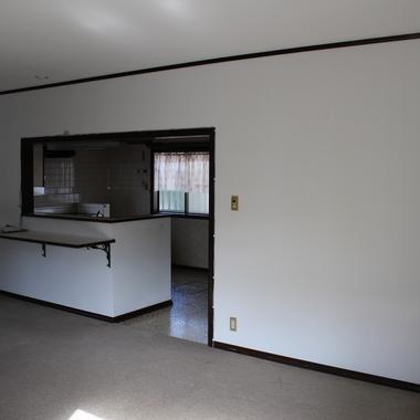 戸建住宅リノベーション前 ダイニング キッチン
