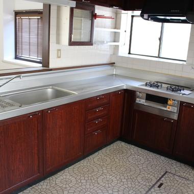 戸建住宅リノベーション前 キッチン