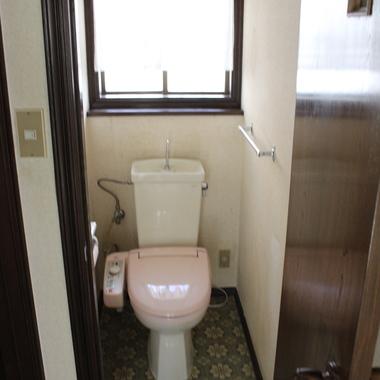 戸建住宅リノベーション前 トイレ