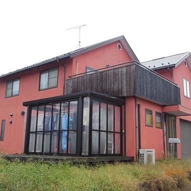 戸建住宅 サイディング張替え・外構工事 前