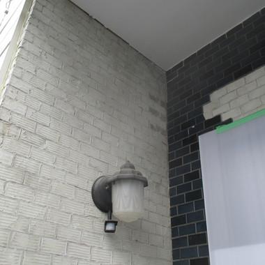 玄関タイル貼り替え前1