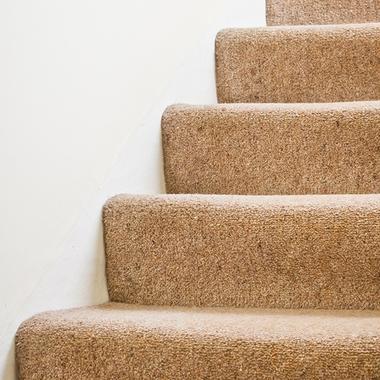 階段のカーペット張替え