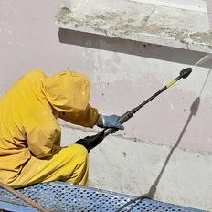 屋根・外壁のバイオ高圧洗浄