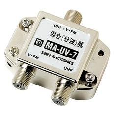 U/V混合アンテナ取付