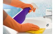 写真:洗面所クリーニング