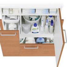 最新洗面化粧台の収納力とラインナップ