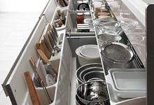 システムキッチンの収納について