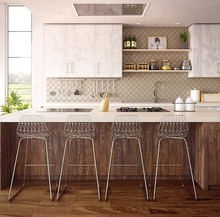 システムキッチンを便利な収納スペースに!吊戸棚のリフォーム方法