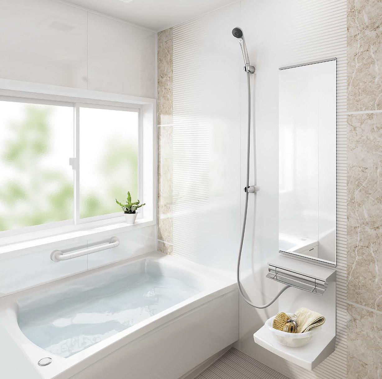 タカラスタンダードの清掃性や耐久性に優れたユニットバス(お風呂