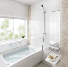 タカラスタンダードの清掃性や耐久性に優れたユニットバス(お風呂)、「ミーナ」の特徴