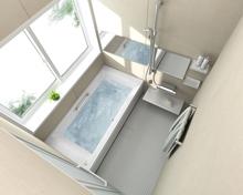 リクシル(LIXIL)のマンション・集合住宅用ユニットバス(お風呂)、「ソレオ」の特徴