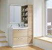 クリナップの化粧洗面台、「FANCIO」の特徴