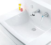 タカラスタンダードのシンプルでコンパクトな洗面化粧台「エリーナ」の特徴