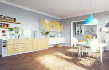 キッチンの収納とレイアウト