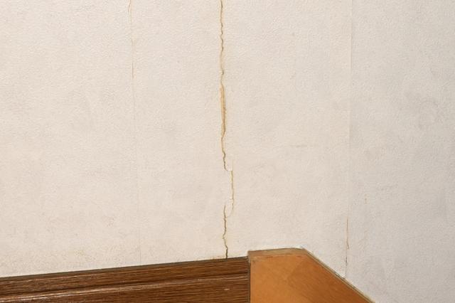壁紙 ひび割れ