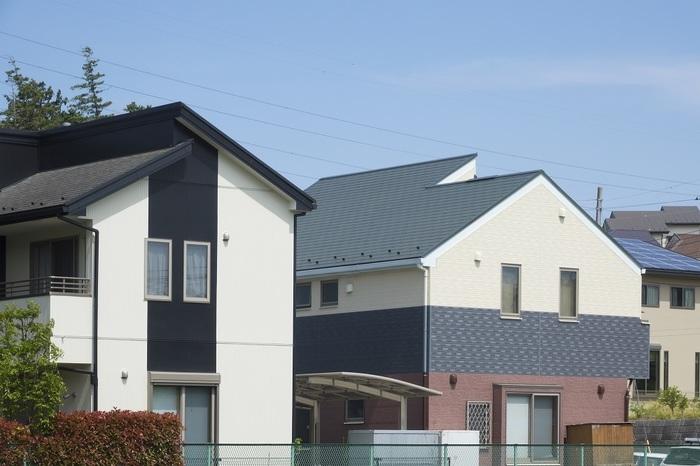 周りの家々