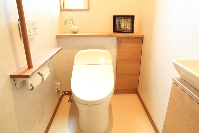 トイレ 壁紙リフォーム